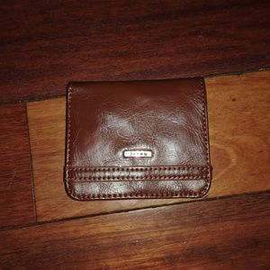 RELIC small wallet cognac orange like new